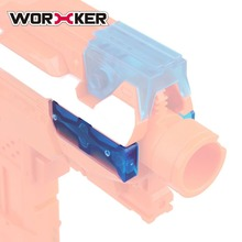 WORKER Professional 2 PC Side Patches Side Rail Adapter Base for Nerf Stryfe Portable Durable Modified Toy Gun Accessories