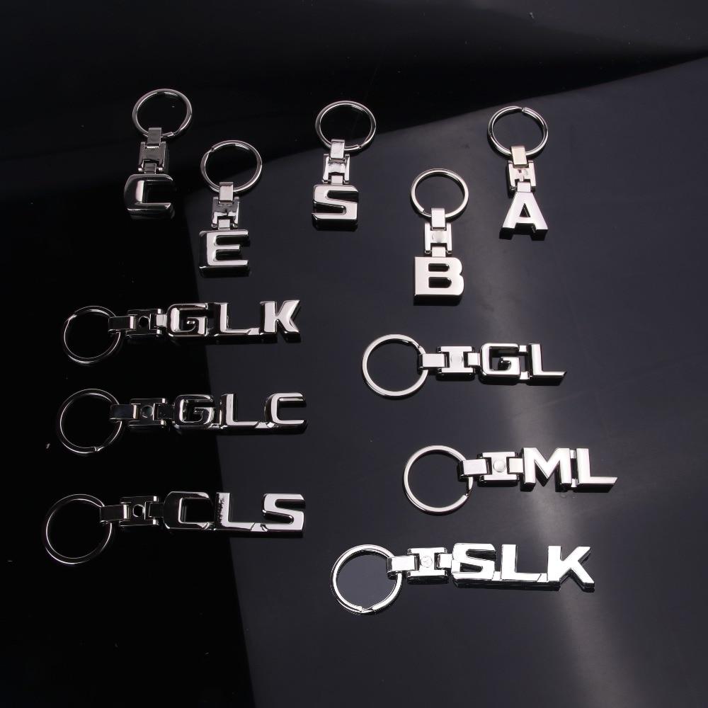 B Class Keyring Stainless Steel Genuine Mercedes Benz Merchandise