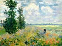3262 Claude Monet - Poppy Fields near Argenteuil - Paint by Numbers Kits for Adults DIY(China)
