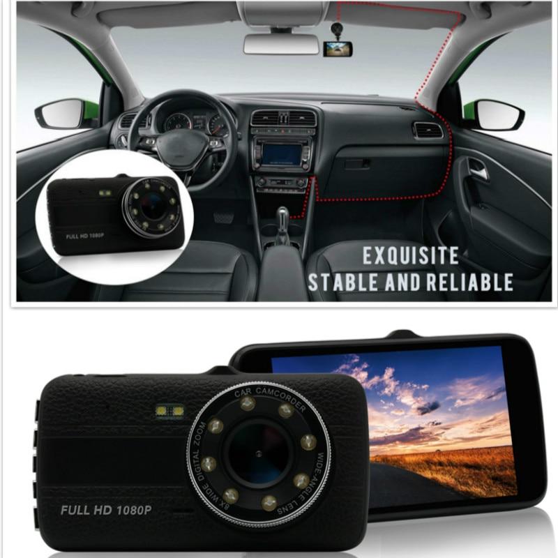 Car DVR dash camera 1920x1080 Camera Resolution Blackbox G-sensor Car DVRs Dual Lens Car Video Recorder  registrator car camera xdevice blackbox 48 в новосибирске