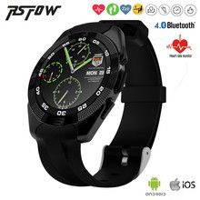 2016 NEW Original G5 Smart Watch MTK2502 Smartwatch Heart Rate Monitor Fitness Tracker Call SMS Reminder Camera for Android iOS