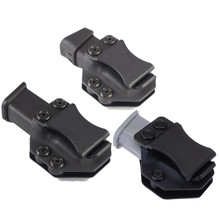 Iwb Magazine Kydex Holster Mag Carrier Pouch holder for Glock 17 19 22 23 26 27 31 32 43 Inside The Waistband Concealed Carry