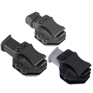 Image 1 - Iwb Magazine Kydex Holster Mag Carrier Pouch holder for Glock 17 19 22 23 26 27 31 32 43 Inside The Waistband Concealed Carry