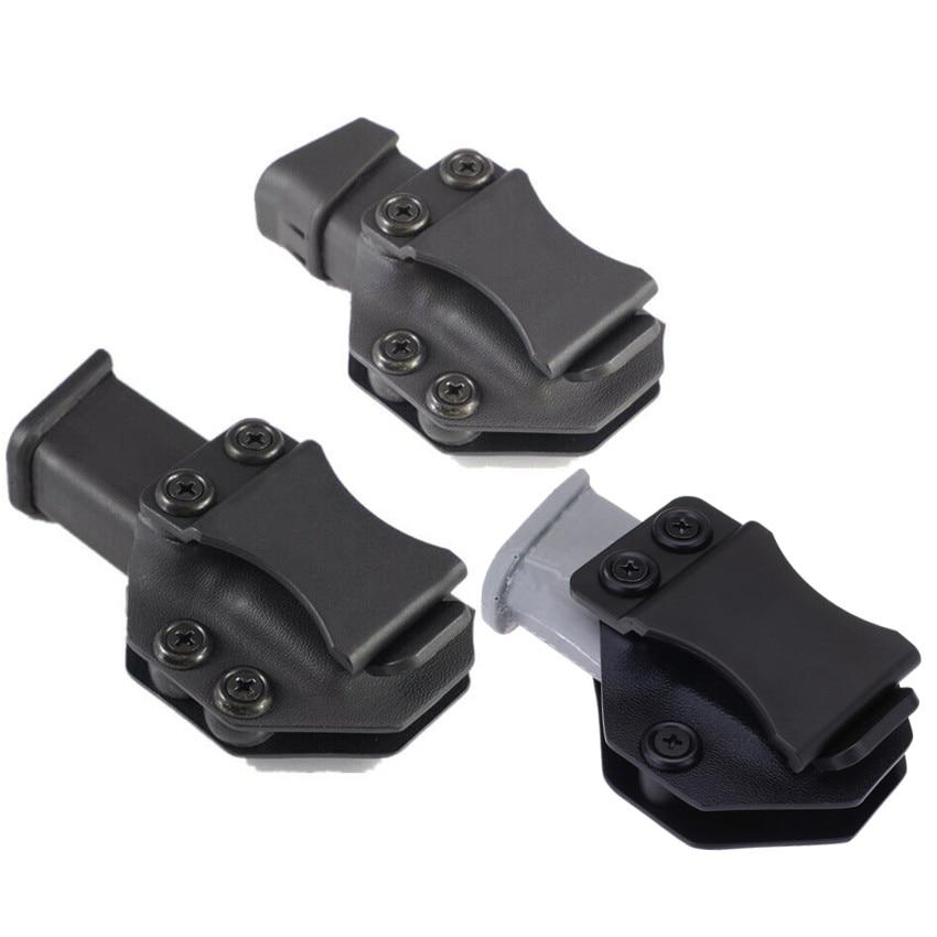 Inside The Waistband IWB Kydex Magazine Carrier Mag Holster For Glock 17 19 26