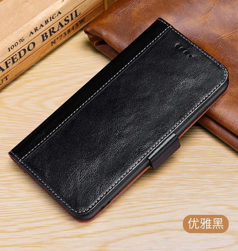 Натуральная кожа Защитный флип чехол Fundas для iPhone X Ретро винтажный Чехол кошелек 6
