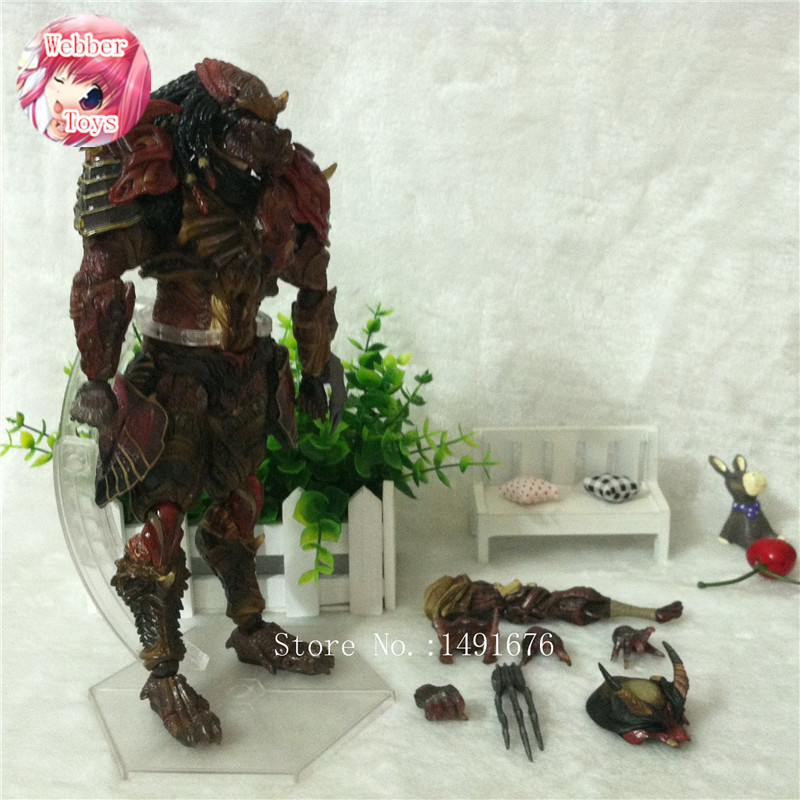Anime Jeux Film Aliens vs Predator Requiem Variante Action Figure Playarts figurine Jouets Modèle Play arts Kai poupée brinquedos