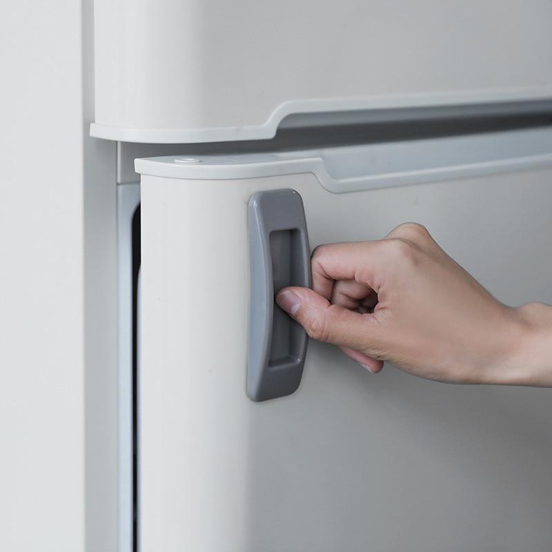 2pcs Drawer Knobs Self-adhesive Plastic Sliding Door Pull Window Handle Cupboard Cabinet Kitchen Drawer Knobs JJJRY678
