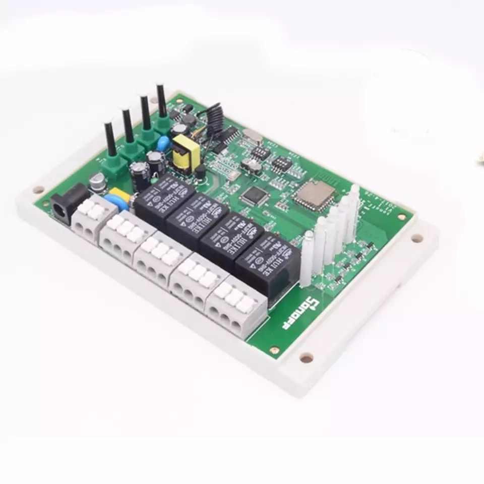 Itead Sonoff 4CH Pro R2 433mhz 4 canales Banda RF control remoto inalámbrico Wifi inteligente interruptor empujando de enclavamiento de Alexa de Google