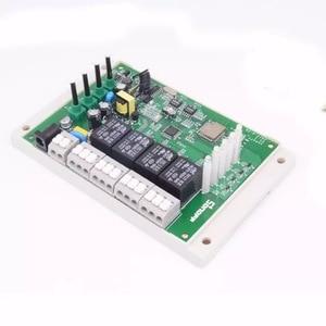 Image 3 - Sonoff interruptor inteligente 4ch pro r2, interruptor de luz 4 gang por wi fi 433mhz rf, com 3 modos de trabalho interligados casa inteligente com alexa