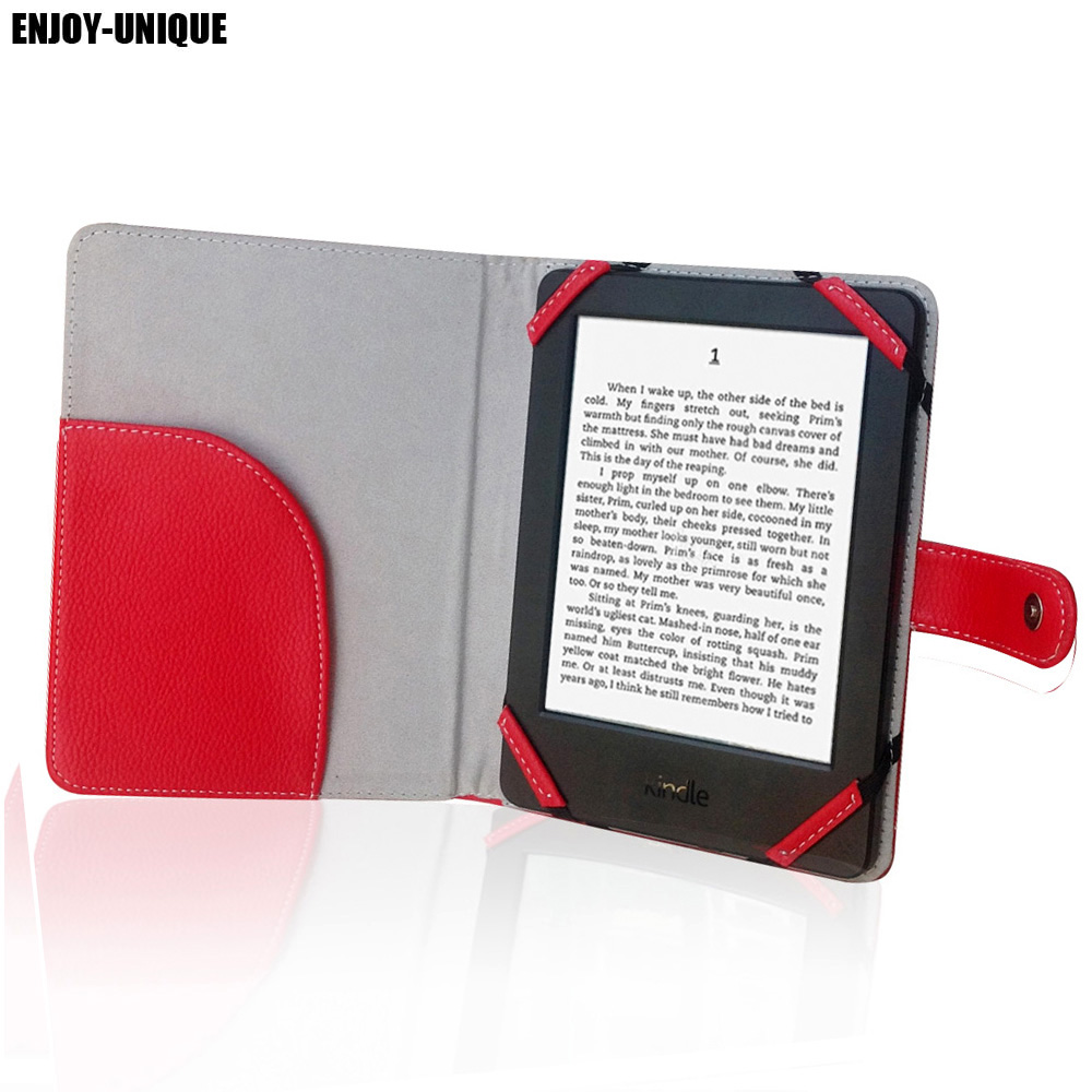 Leather case cover for amazon kindle paperwhite 6 inch ebook reader pu leather cover smart case for amazon kindle 7th generation new 2014 ebook reader fandeluxe Gallery