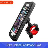 Suporte do telefone da bicicleta GPS para iPhone6/6 s Caso À Prova D' Água  suporte Do Telefone da bicicleta moto moto rcycle suporte do Guiador Cradle suporte