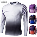 2017 T shirt Men Long sleeve T-shirt Tight Clothing Shark Tshirt Fast Drying T-shirt Homme Sporting Fashion Man T-Shirts