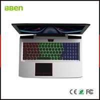 BBEN G16 Laptop Intel i7 7700HQ Nvidia GTX1060 GDDR5 16G RAM + 256G SSD + 1T HDD RGB Backlit Keyboard 15.6'' IPS Game Computer