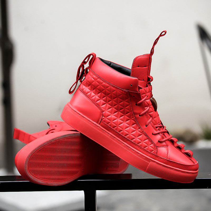 17 New Spring Autumn British Style Men Shoes Casual Shoes Men High Tops Fashion Hip Hop Shoes Zapatos De Hombre Mens Shoes 7