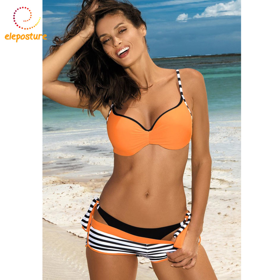 2019 Sexy Bikini Set Three Piece Swimsuit Women Push Up Swimwear Brazilian Bathing Suit Beachwear Swimming Suit For Women Bikini