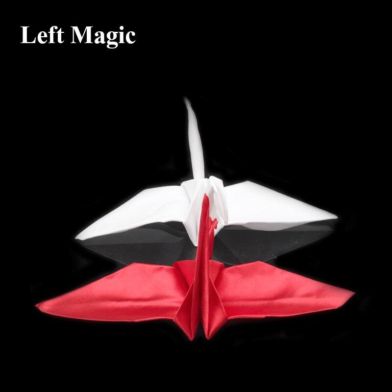 Crane Magic (Origami Magic) Magic Trick Paper Crane Close Up Magic Props Street Accessories Mentalism C2087