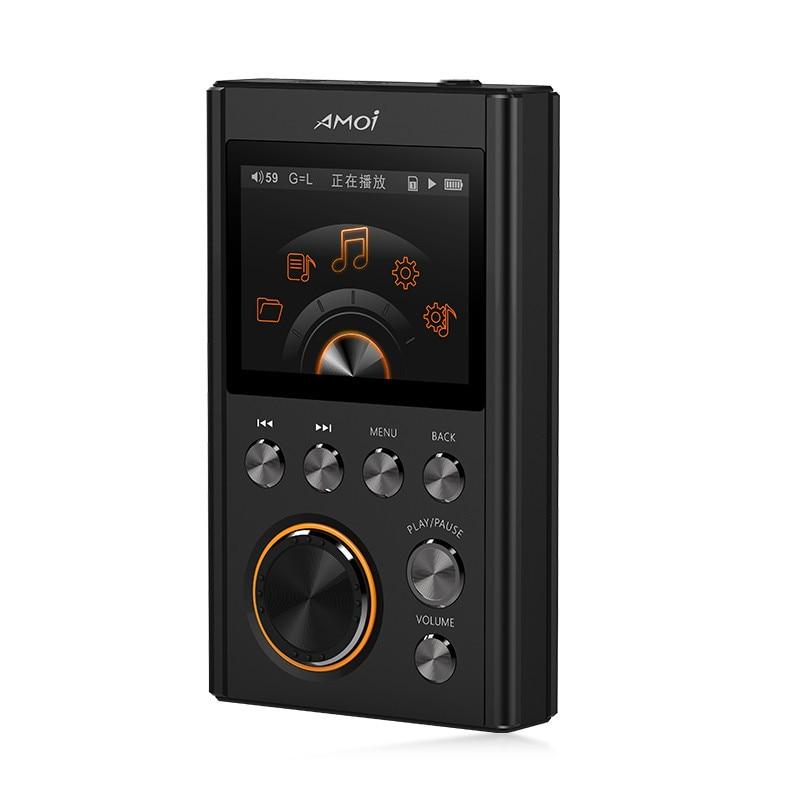 Amoi C20 DSD64 16 GB Mini lecteur MP3 Sport 24Bit/192 Khz entrée de gamme HiFi lecteur de musique Portable sans perte de haute qualité DACWM8965