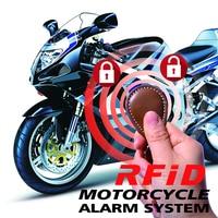 BANVIE RFID immobilizer Motorcycle Alarm System with Engine Cut Off ID Card Lock Motorbike Anti theft Lock