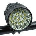 40000 лм 16 * XML-T6 светодиодная передняя фара для велосипеда  передний свет для езды на велосипеде  для наружных аксессуаров Ночная езда на велос...