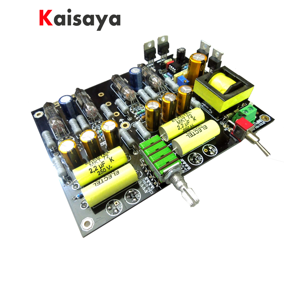 купить Battery powered version 6H16B 6N16B hifi bile preamplifier balance preamp hifi tube preamp DIY kit board for car по цене 5552.68 рублей