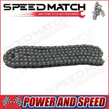 460mm T8F cadena 116 enlaces con conexión maestra de repuesto para 47cc 49cc 2 tiempos tierra bolsillo Mini motocross Bike ATV Quad Go Kart