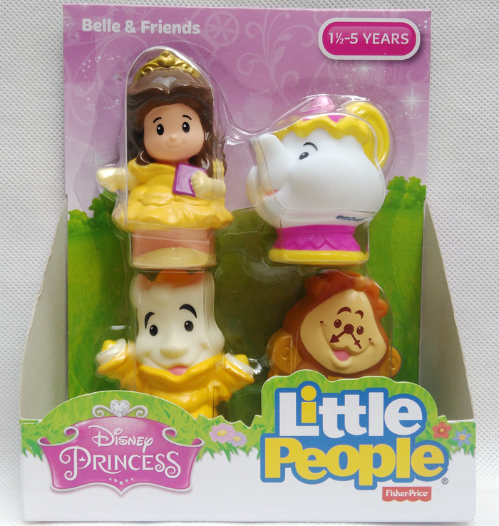 Big Brand F isher P rice Beauty and the Beast Belle Mrs. Potts Lumiere Figure Toy Doll Limited Collection Home Decoration