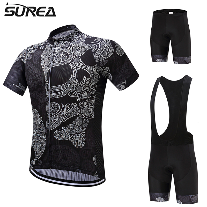 2017 SUREA Summer Bicycle clothing maillot DT07 short sleeve Cycling Jersey Men set Ciclismo ropa Bike Quick Dry Clothes polyester summer breathable cycling jerseys pro team italia short sleeve bike clothing mtb ropa ciclismo bicycle maillot gel pad