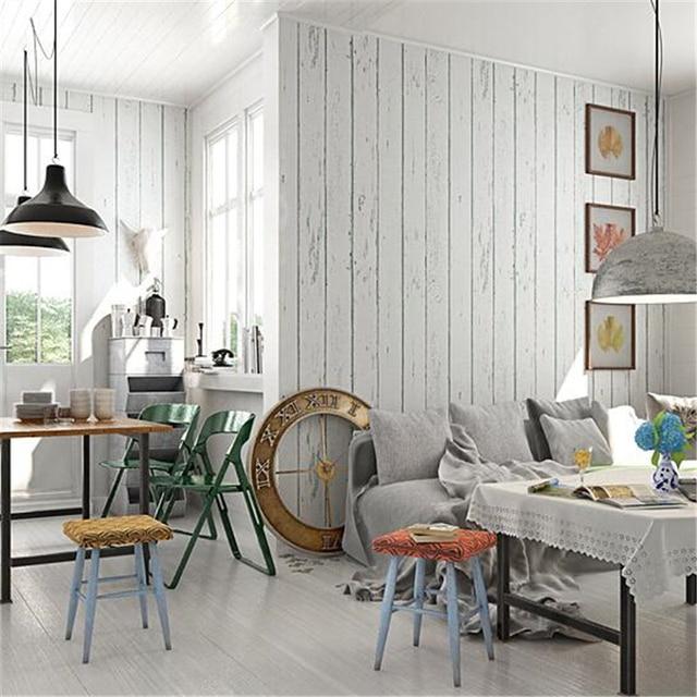 Beibehang blanco rayas vintage Mediterráneo wallpaper grano de ...