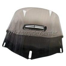 Humo 3 Hoyos Motocicleta Parabrisas Con Salida De Aire Fresco Para 2001-2013 Honda GL1800 Goldwing 1800 03 04 05 06 07 08 09