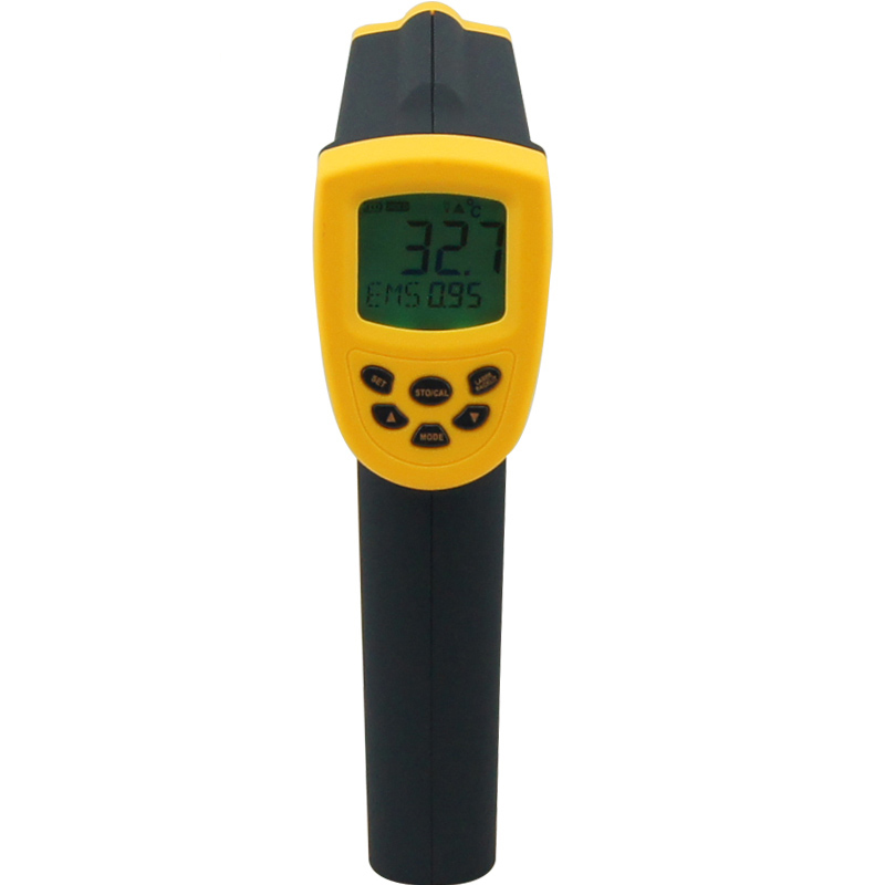 AR872D Non-contact digital Infrared thermometer -50~1150C(-58-2102F) IR Point gun non contact infrared thermometer temperature gm1150 non contact 12 1 lcd display ir infrared digital temperature gun thermometer 50 1150c 58 2102f 0 1 1 00 adjustable