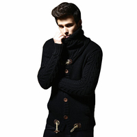 Loldeal New men fashion brand clothing sweater knit mens sweaters mens wool sweaterknitted sweater