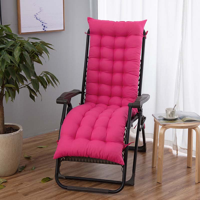 Outdoor Sun Lounger Garden Furniture Patio Desk Recliner Chairs for Back Pain Relaxer Pad Cushion for Elderly(China)