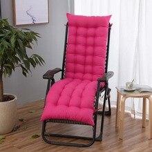 Tumbona al aire libre jardín Patio reclinable colchón cojín para silla relajante de dolor de espalda para ancianos