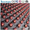 Leeman полу открытый P10 красный светодиодный дисплей --- программируемый светодиодный moving знаков/один цвет LED программируемый знак табло