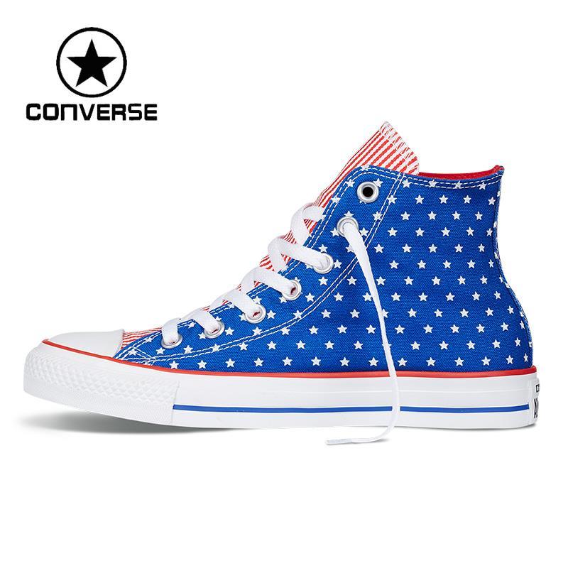 Prix pour D'origine Converse all star Unisexe Planche À Roulettes Chaussures Toile Sneakers