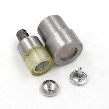 6mm-15mm Metal rivet installation tool Semi - circular metal rivets . die. Button mold. Mold nail Sewing repair tools dies