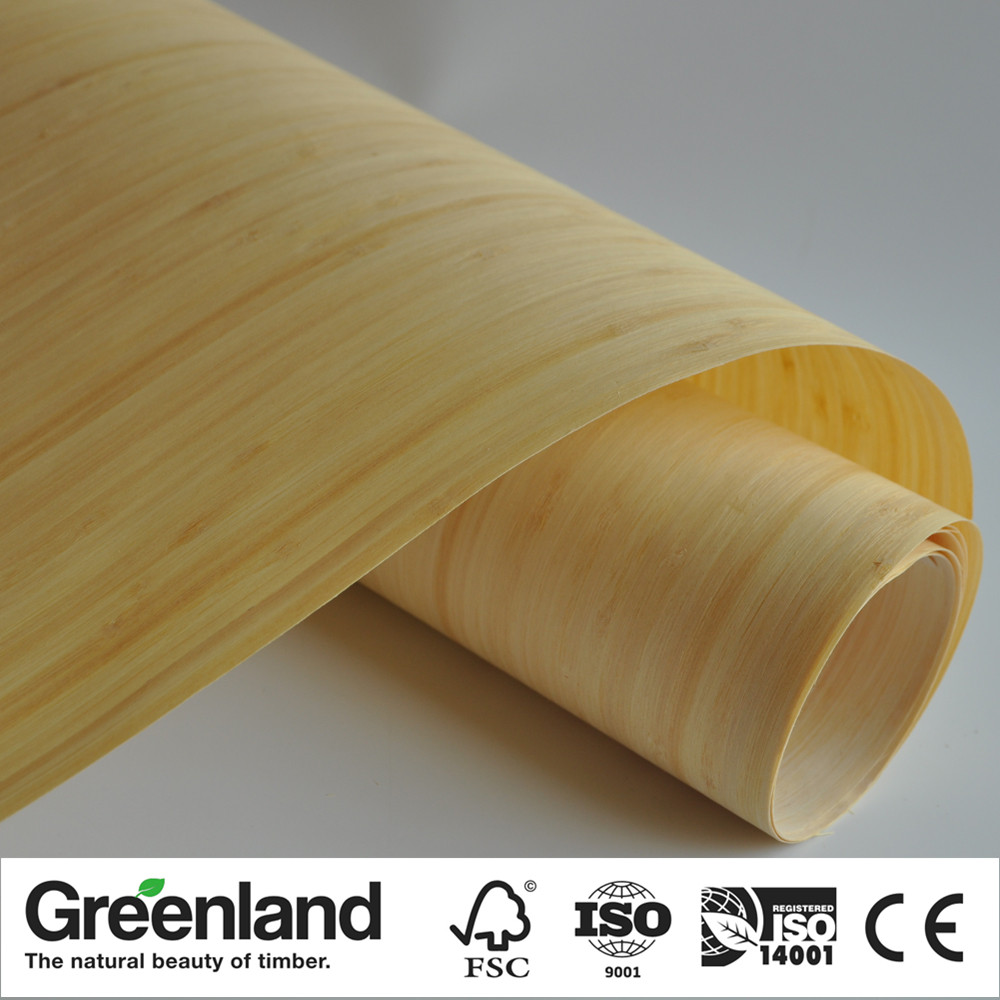Carbonized Bamboo Veneer For Table