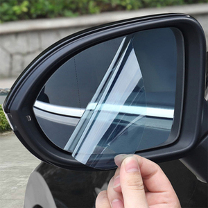 Image 2 - KobraMax Car Rearview Mirror Waterproof Film for Porsche Cayenne /Macan /Maca Car Special Rearview Mirror Rain Waterproof 1pcs