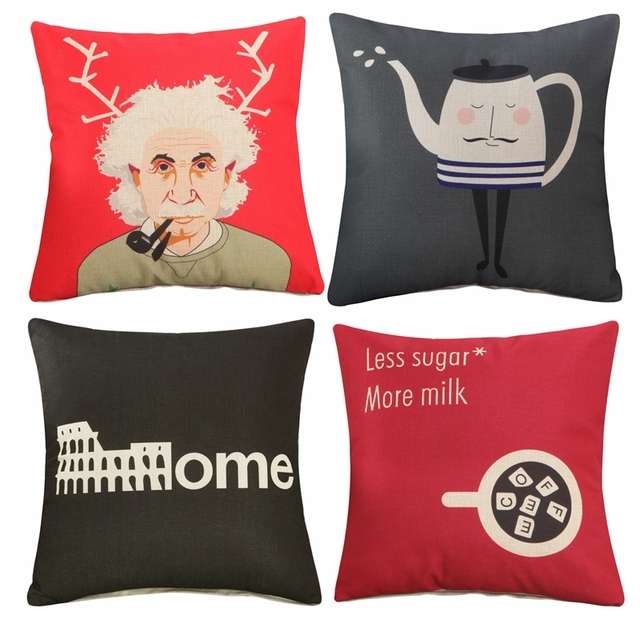 Aliexpress Buy Modern Style Letter Printing Cushion Covers For Beauteous Decorative Pillows For Less
