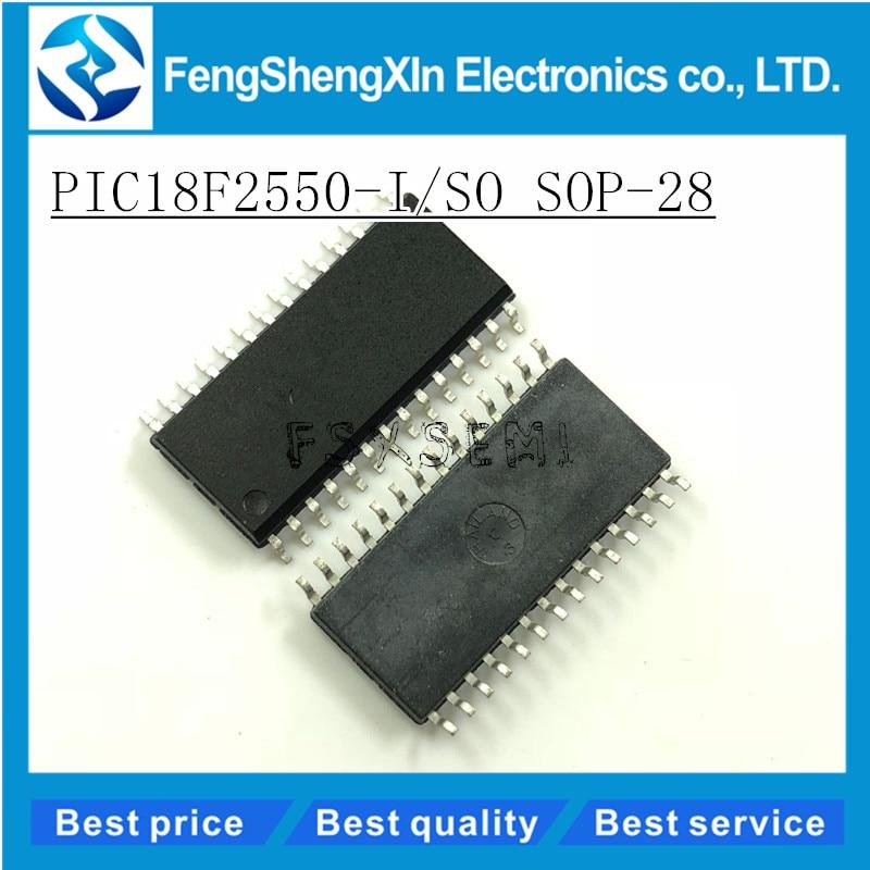 5pcs/lot PIC18F2550-I/SO PIC18F2550 SOP-28 IC USB Microcontrollers