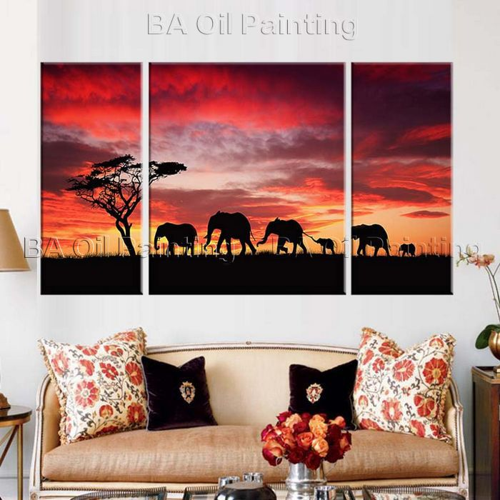 Comprar 3 unidades de pared cuadros para sala de estar pintura al leo pintado a - Cuadro para pared ...