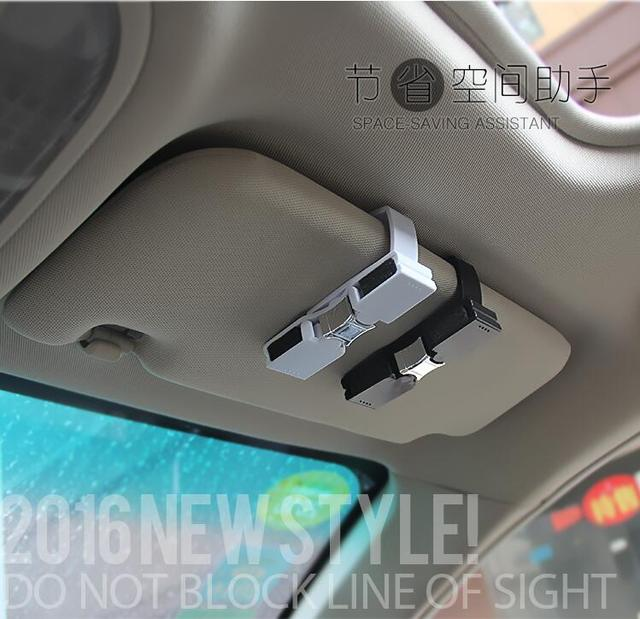 car-styling Car Sun Visor Glasses Clip for mercedes gla astra j ford focus  2 bmw m peugeot 308 407 touran audi a6 c5 accessories 487b9f622bb