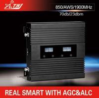 Full Smart LCD Display Tri BAND 850 1900 AWSmhz Speed 2g 3g 4g Smart Mobile Signal