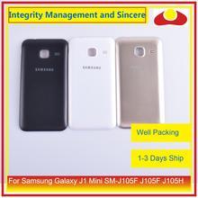 10 Pz/lotto per Samsung Galaxy J1 Mini SM J105F J105F J105H J105 Dellalloggiamento Del Portello Della Batteria Posteriore di Caso Della Copertura Posteriore Del Telaio Borsette