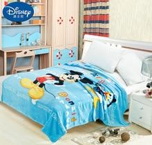 Summer 2019 new Blanket Mickey Minnie train Soft Flannel Cartoon for Children on Bed Sofa Couch children woolen blanket