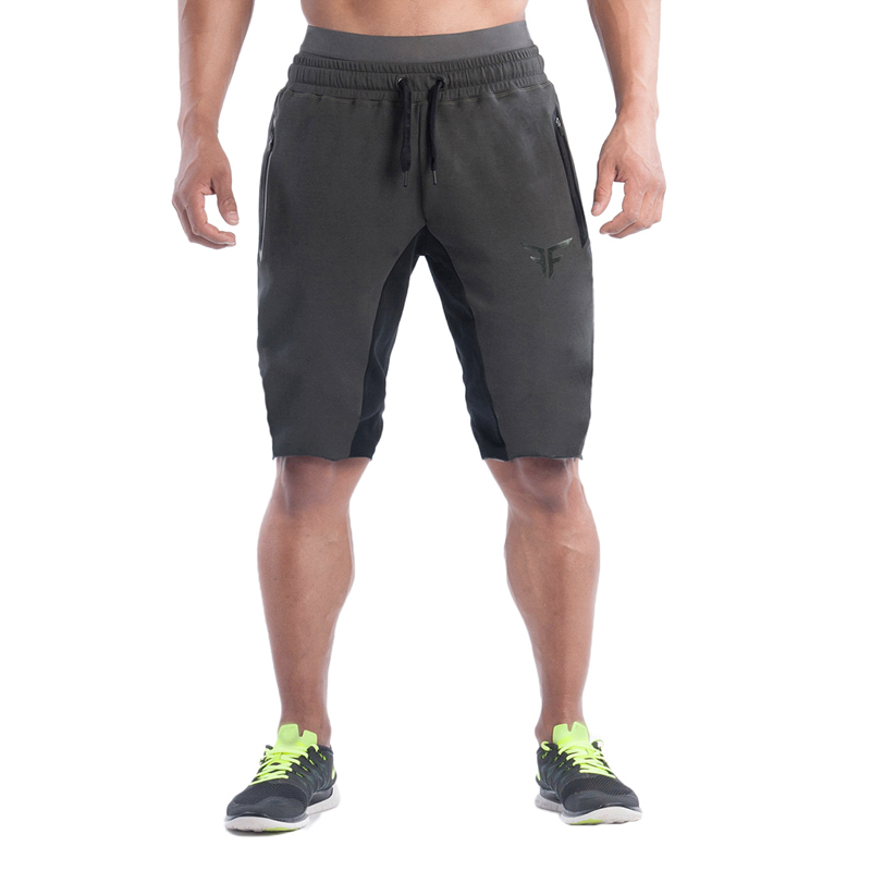 2018 Fashion Men Sporting Beaching Shorts Trousers Cotton Bodybuilding Sweatpants Fitness Short Jogger Casual Gyms Mens Shorts