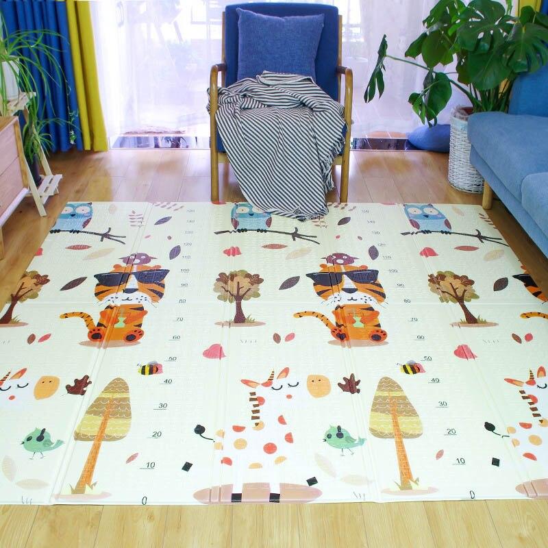 Xpe tapis rampant pliable bébé tapis d'escalade 1.5 cm épais mousse Pad salon chambre insipide bébé jeu coussin
