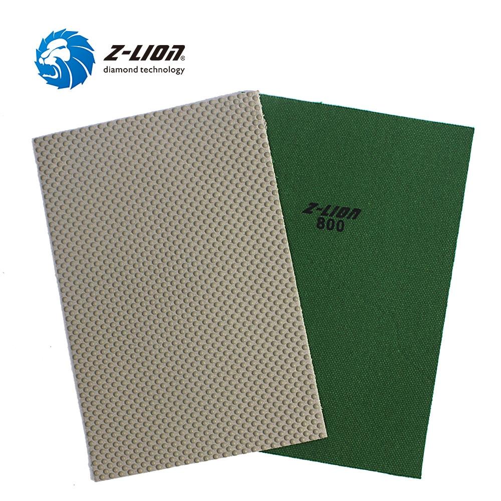 Z-LION 1piece Diamond Polishing Sheet 120*180mm Glass Stone Ceramic Abrasive Sanding Paper Diamond Polishing Tool