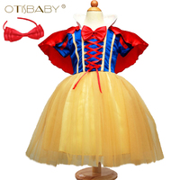 OTISBABY 4 Layers Snow White Cosplay Dresses For Girls Party Princess Dress Children S Tulle Dress