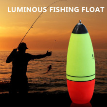 Luminous Fishing Float Boia Foam Type Led Fishing Light Stick Bobber Buoy Electronic Glowing Night Fishing Floats  Fishing Tools
